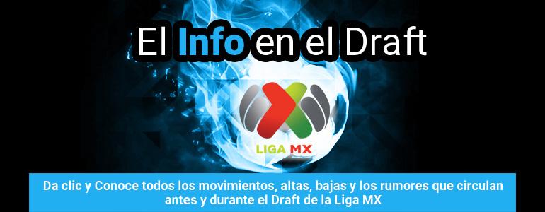 El Info en el Draft Liga MX